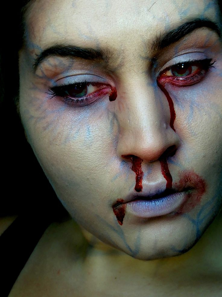 Easy Zombie Makeup for Halloween - Thisblissfulmoment.doc ...