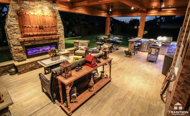 30 Amazing Design Ideas For A Kitchen Backsplash: 1000+ Ideas About Covered Outdoor Kitchens On Pinterest