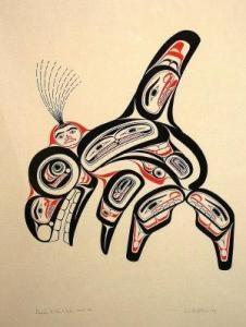 Bill Reid - Haida Killer Whaleska:na