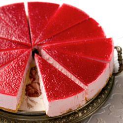 Deze heerlijke frambozen kwarktaart is een recept voor alle gelegenheden. Vooral tijdens feestjes is het recept frambozen kwarktaart een liefhebber.