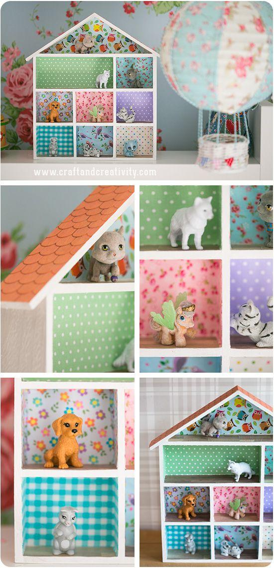 Miniature dollhouse - by Craft & Creativity