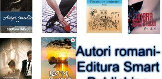 Lista autori romani-Editura Smart Publishing