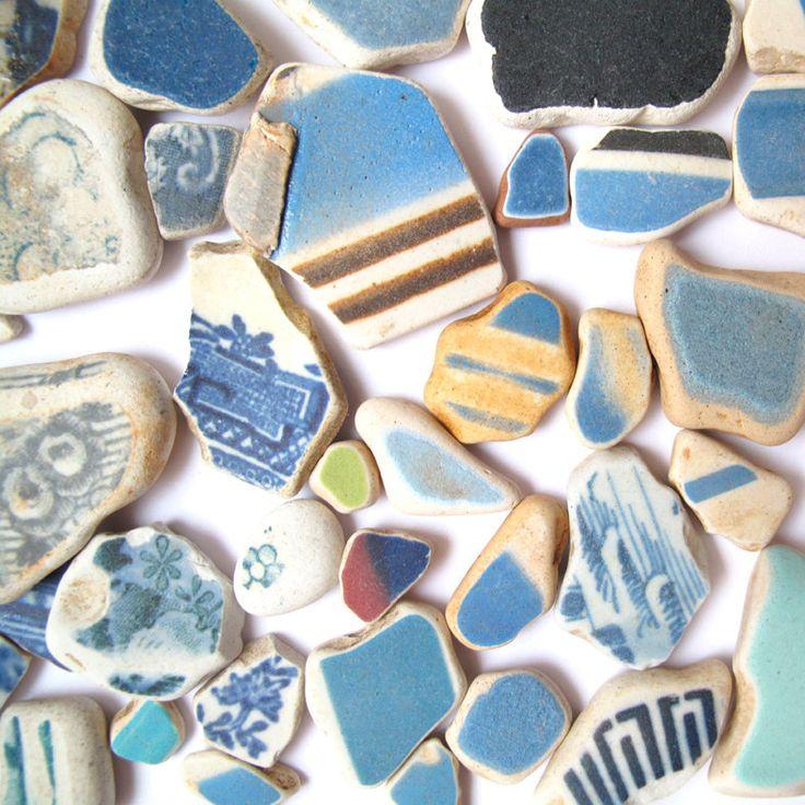 Beach Pottery Ideas: Sea Glass - Sea Pottery
