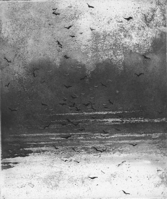 Suffolk, Norman Ackroyd CBE RA, Etching, 15.5 x 13cm how good was the programme on BBC4 last night?