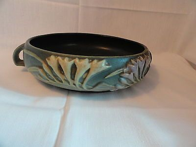 "Antique Roseville Art Pottery Freesia 8"" Bowl Signed 465 - 8 Mint"