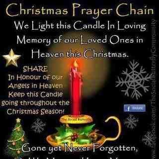 Christmas Prayer Chain