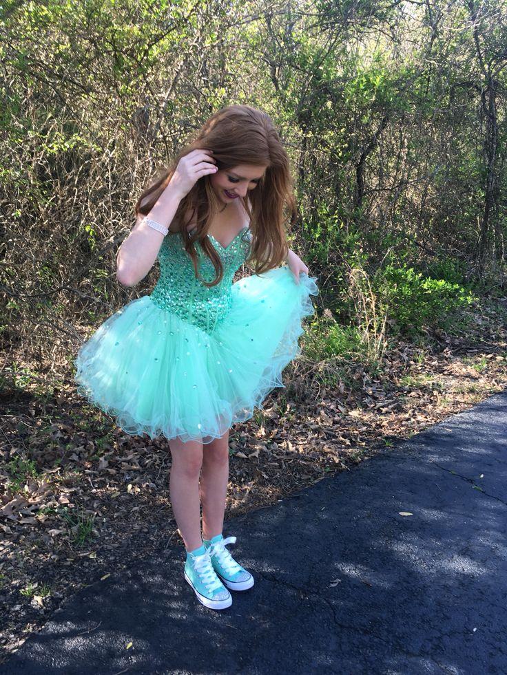Prom dress #converse