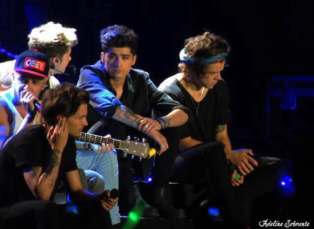 One Direction at the WWA tour in Montevideo, Uruguay - 06.05.14 #16