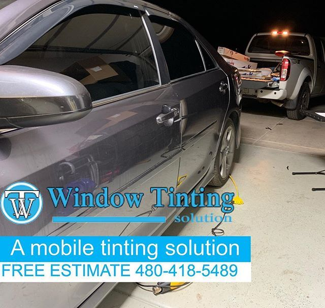 Mobile Window Tinting We Come To You With The Highest Quality