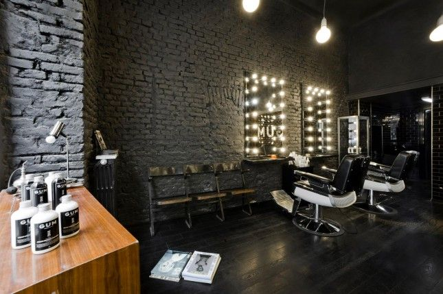 1000+ images about Salon Design on Pinterest  Barbers, Concrete table ...