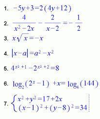 Resultado de imagen para algebra valor absoluto de enteros