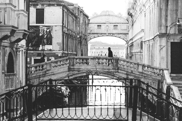 Venise, pont des soupirs • Venice, Bridge of Sighs