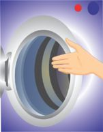 how to clean top-loading washing machine smell