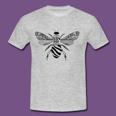 Zentangle Bee via https://shop.spreadshirt.de/Honbee/?noCache=true