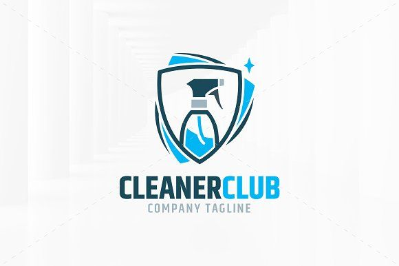 Cleaner Club Logo Template Cleaners Logo Logo Templates
