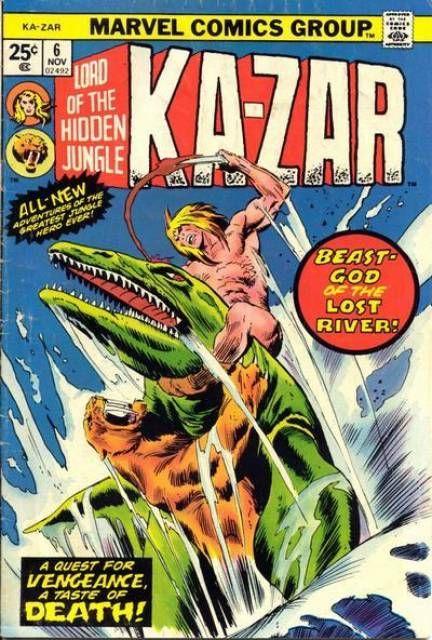 Ka-Zar (Volume) - Comic Vine