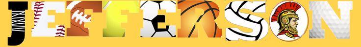 Jefferson Middle School- Hands on DC Mural - Sports Themed w/Trojan Mascot