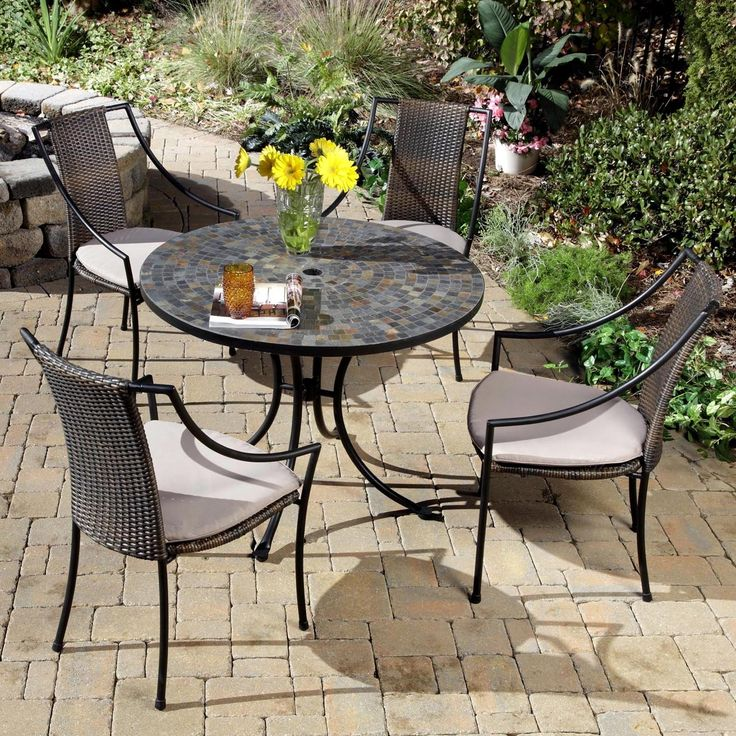 Small Metal Patio Table Sick Of Your Old Worn Out Want To Refurbish It Outdoor Ideas Are E