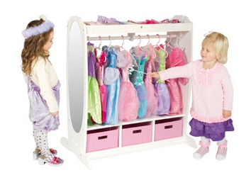storage for dress up clothes: Idea, Kids Stuff, Dressup Storage, Dress Up Storage, Guidecraft Dresses, Storage Center, Playrooms, Dresses Up Storage, Kids Rooms