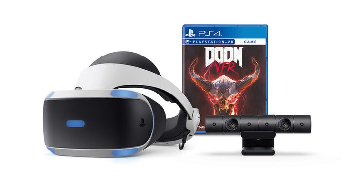 Sony's latest PlayStation VR bundle takes on the 'Doom' hellscape