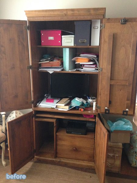Luxury Computer Armoire Sewing Computers Craft Rooms Armoire Makeover