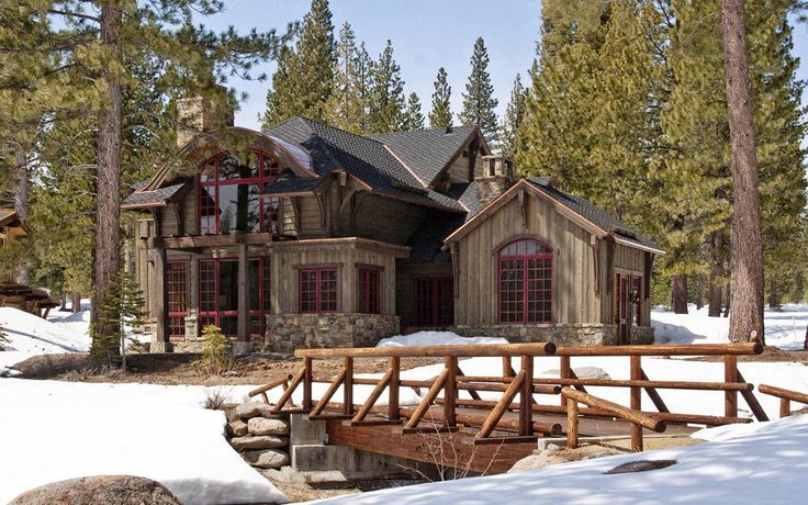 Rustic Mountain Home... the good life... Pinterest