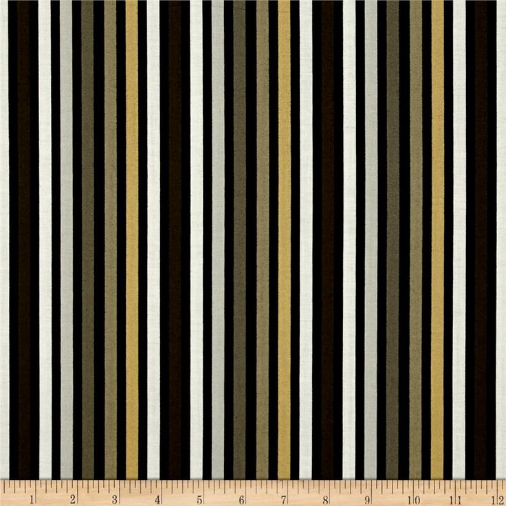 Flint stripe black from fabricdotcom from red rooster fabrics this cotton print fabric is - Black and red home decor plan ...