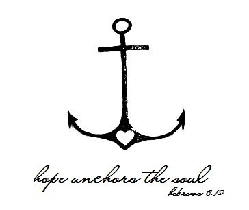 Anchor + bible verse (might need to add this to my wrist)
