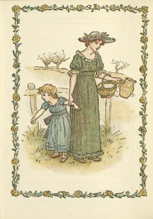 152 best Art of Kate Greenaway images on Pinterest | Baby books ...