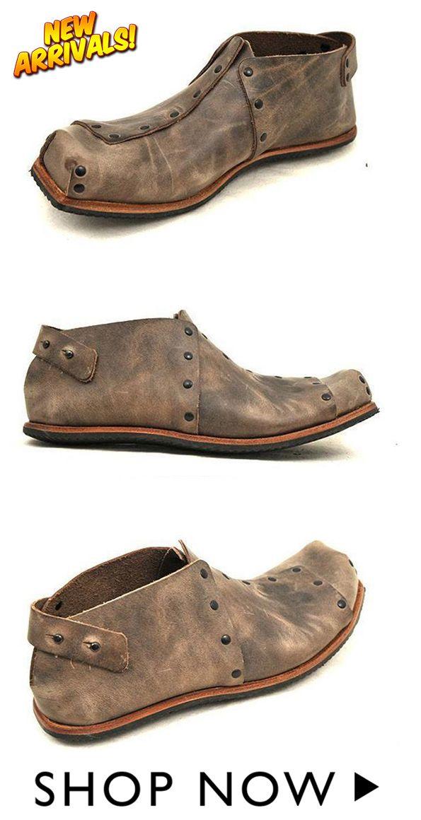 98d8073544e Men Vintage Square Head Shoes in 2019 | men's shoes | Vintage men ...
