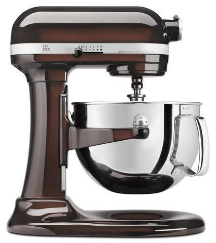 KitchenAid Professional 600 Series KP26M1XER Bowl-Lift Stand Mixer, 6 Quart, Espresso