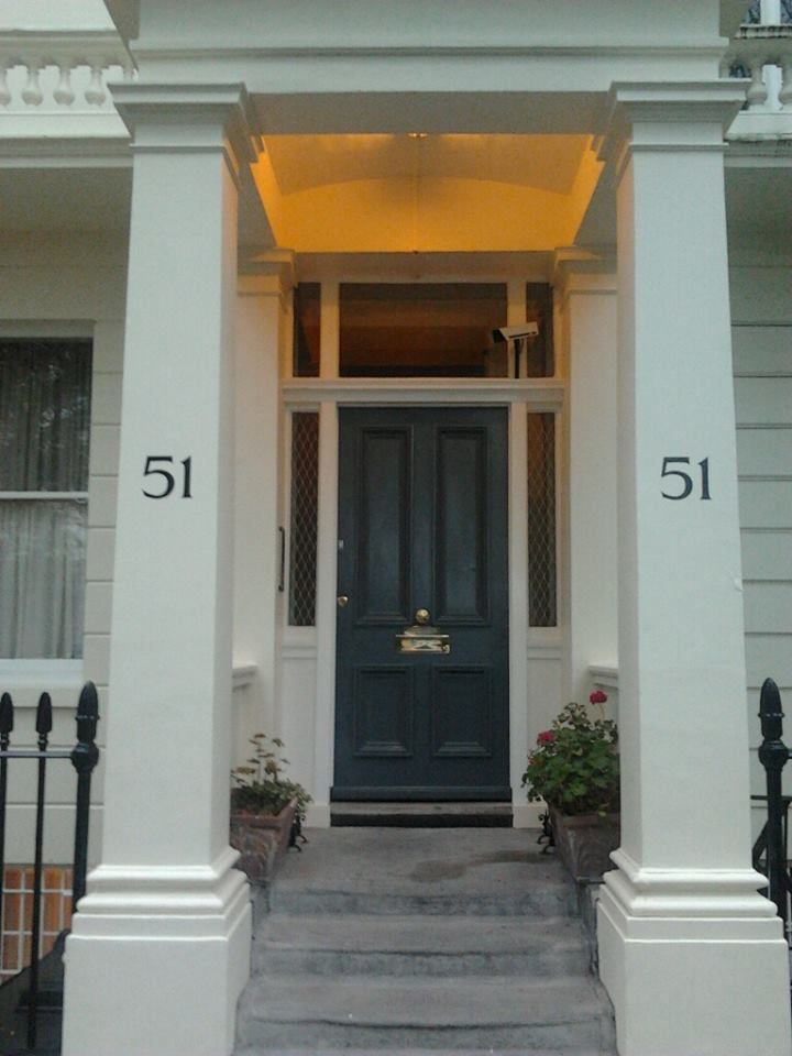 51 done 2 Number for House Signwritten by hand - Nick Garrett