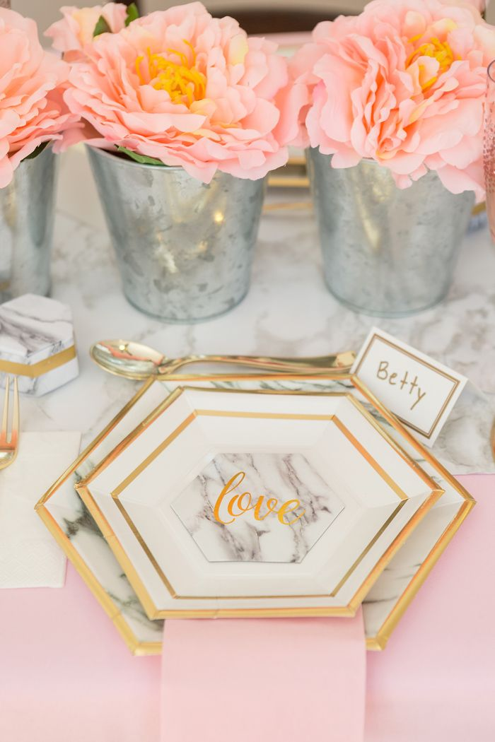 Marble is not just for kitchen counters anymore – in fact, it's taking over the wedding world! Come see why we love marble onOriental Trading's site Fun365today with our marble and blush wedding.Our party features a DIY marble cake stand, DIY pink marble plates, and a recipe for marble bundt cake! Below is just a...Read More