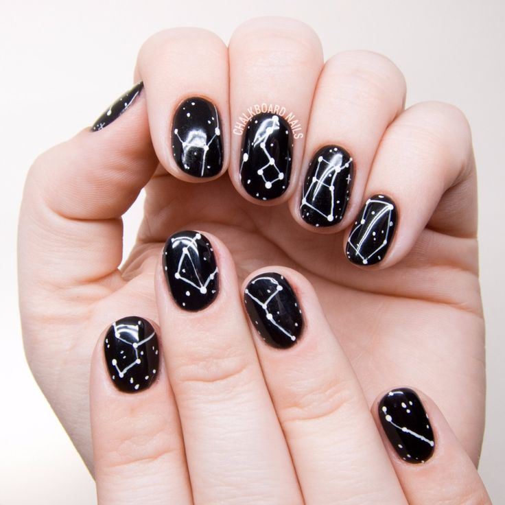 Nail Art is not something that requires years of training, but to those  that are - Best 25+ Star Nails Ideas On Pinterest Star Nail Art, Sky Nails