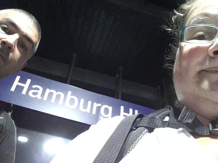 Finalmente... Amburgo! Finally... Hamburg!