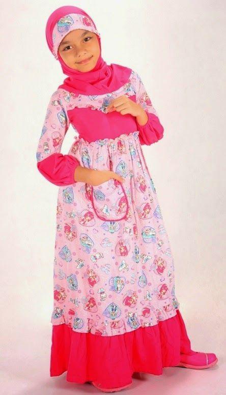 contoh baju muslim anak indonesia
