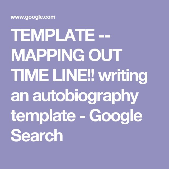 25  best ideas about autobiography template on pinterest
