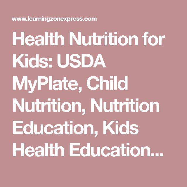 Health Nutrition for Kids: USDA MyPlate, Child Nutrition, Nutrition Education, Kids Health EducationKids Healthy Eating from Head to Toe Poster