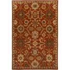 Middleton Jenna Rust (Red) 7 ft. 6 in. x 9 ft. 6 in. Indoor Area Rug