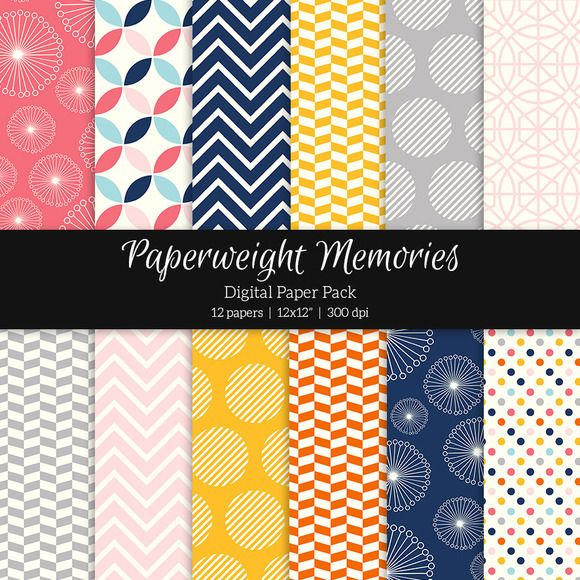 Patterned Paper - Sunset Mimosa by Paperweight Memories on @creativemarket ... https://creativemarket.com/paperweightmemories/335159-Patterned-Paper-Sunset-Mimosa?u=paperweightmemories