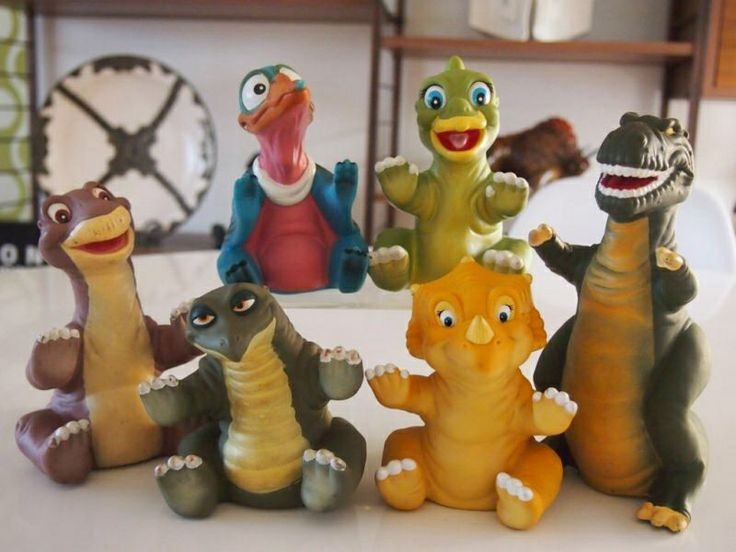 Land Before Time Toys : The land before time toys from pizza hut my life