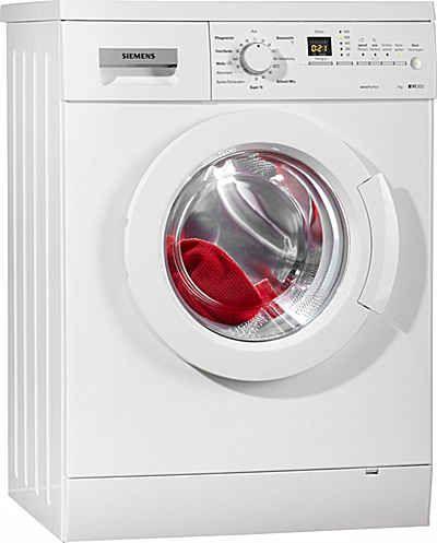 SIEMENS Waschmaschine WM14E3A1, A+++, 7 kg, 1400 U/Min