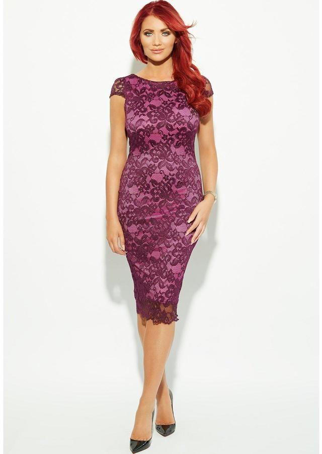 amy childs dresses uk | Amy Childs Nadia Lace Bodycon Dress - ShopStyle.co.uk