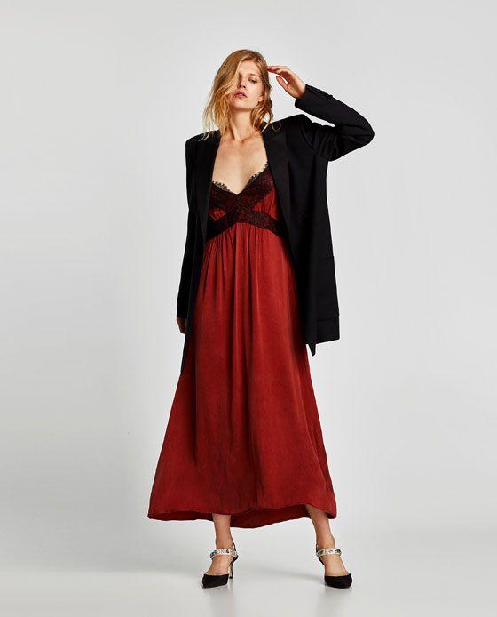 ZARA - WOMAN - STRAPPY CAMISOLE DRESS