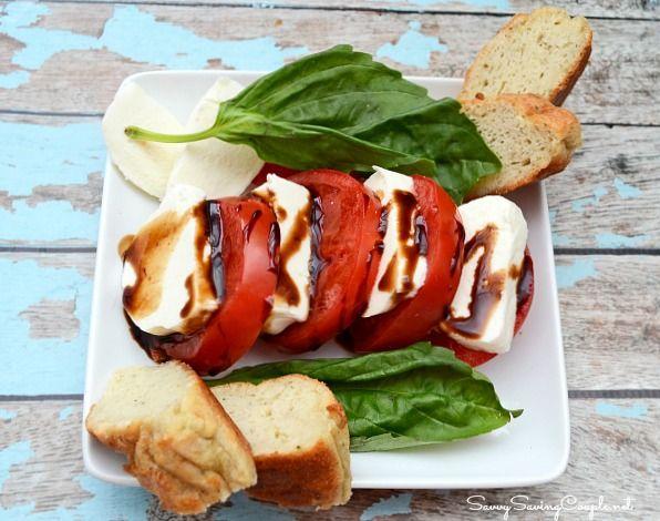 Gluten Free Version of Panera Breads Tomato Mozzarella Salad