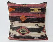 24x24 kilim pillow 24x24 oversized decorative pillow 60x60 pillow cover extra large cushion oversized throw pillow large cushion cover 24605