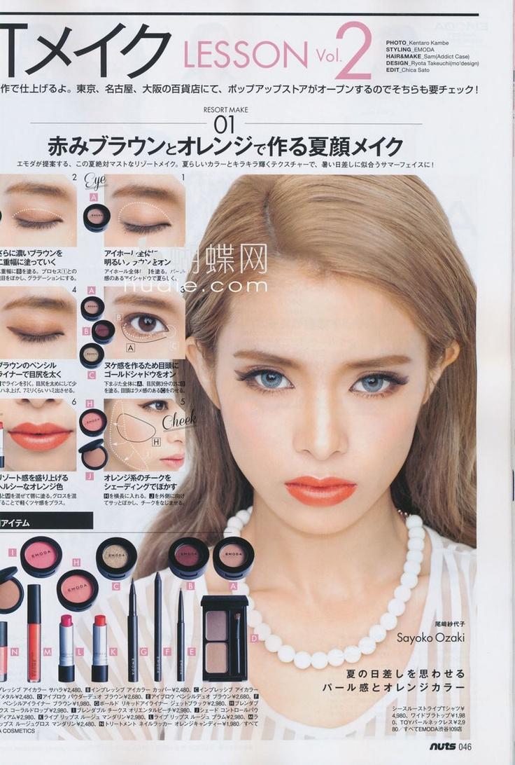 Happie Nuts magazine | Emoda cosmetics
