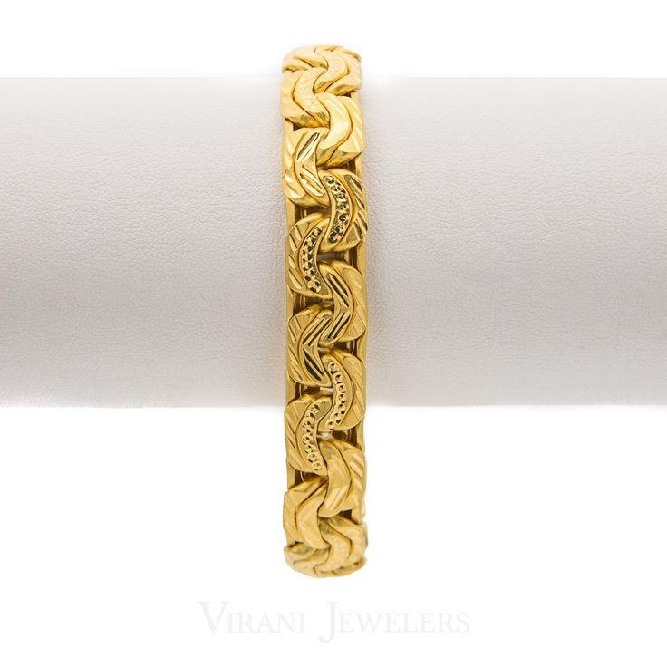 22k Men's Gold Bracelet