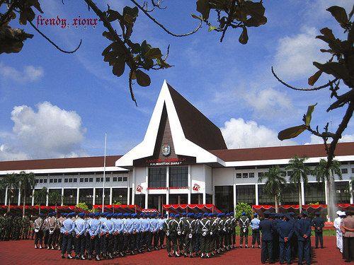 Kantor Gubernur Provinsi Kalimantan Barat Pontianak Indonesia