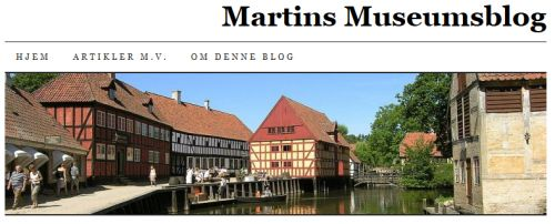 MartinsMuseumsblog makes a list of Danish museum blogs #museumsblogger